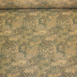 Graphic green - upholstery fabric