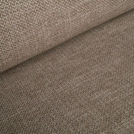 Aurelia - upholstery fabric - cream / brown melange