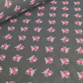 Cotton Fabric - Rose