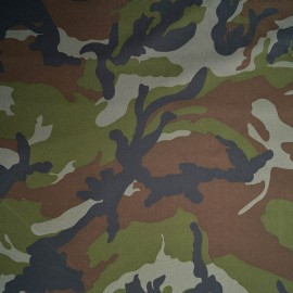 Bundi - PES camouflage fabric with coating