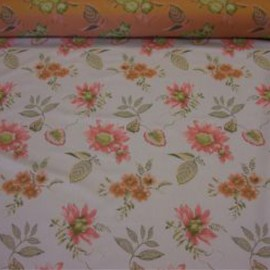 Flora - beige - upholstery fabric