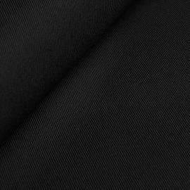 Franziska wool cloth - black