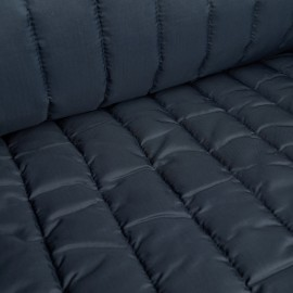 Igor - Water-repellent Quilted Fabric - Navy