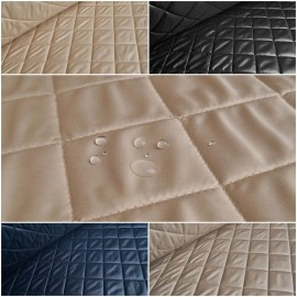 Ilja - Ultra Light Quilted Fabric with Diamond Stitching