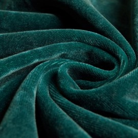JAB Anstoetz Excellence - Upholstery fabric - Curtain fabric - Petrol