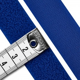 Velcro tape - fleece side - royal blue
