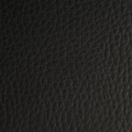 Rolf Artificial Leather - Flame-retardant - Matt Black