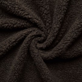 Lamb fur - dark brown