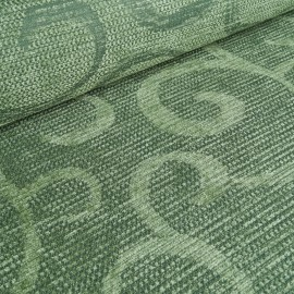 Tendril Upholstery Fabric - Linden Green
