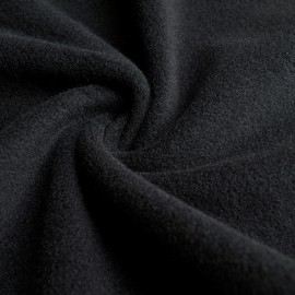 Nora - Fleece / Mesh fabric - Black