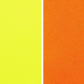 Outer fabric laminate windproof, waterproof, breathable - neon EN471
