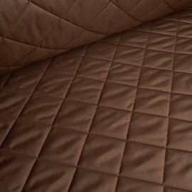 Anton - Ultra Light Quilted Fabric - Brown
