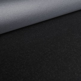 Wool Fabric (Merino) with Climate Membrane - Black