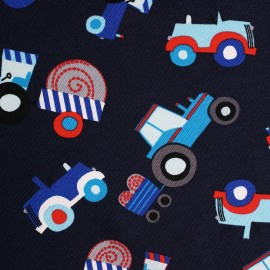 Tractor - cotton jersey
