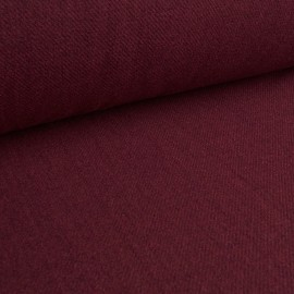 Vino - Medium-weight Wool Fabric - Bordeaux