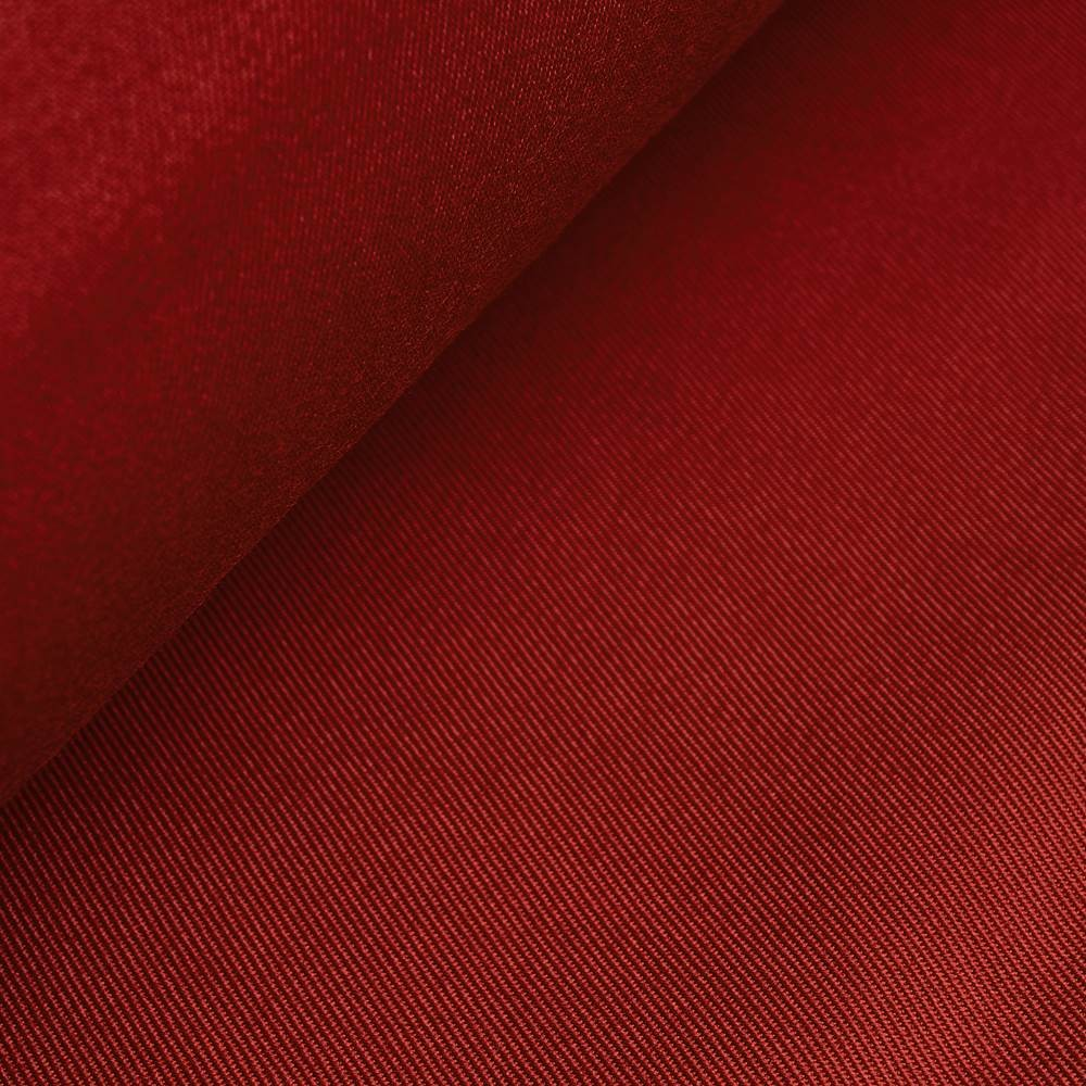 Franziska trevira woolcloth - high red