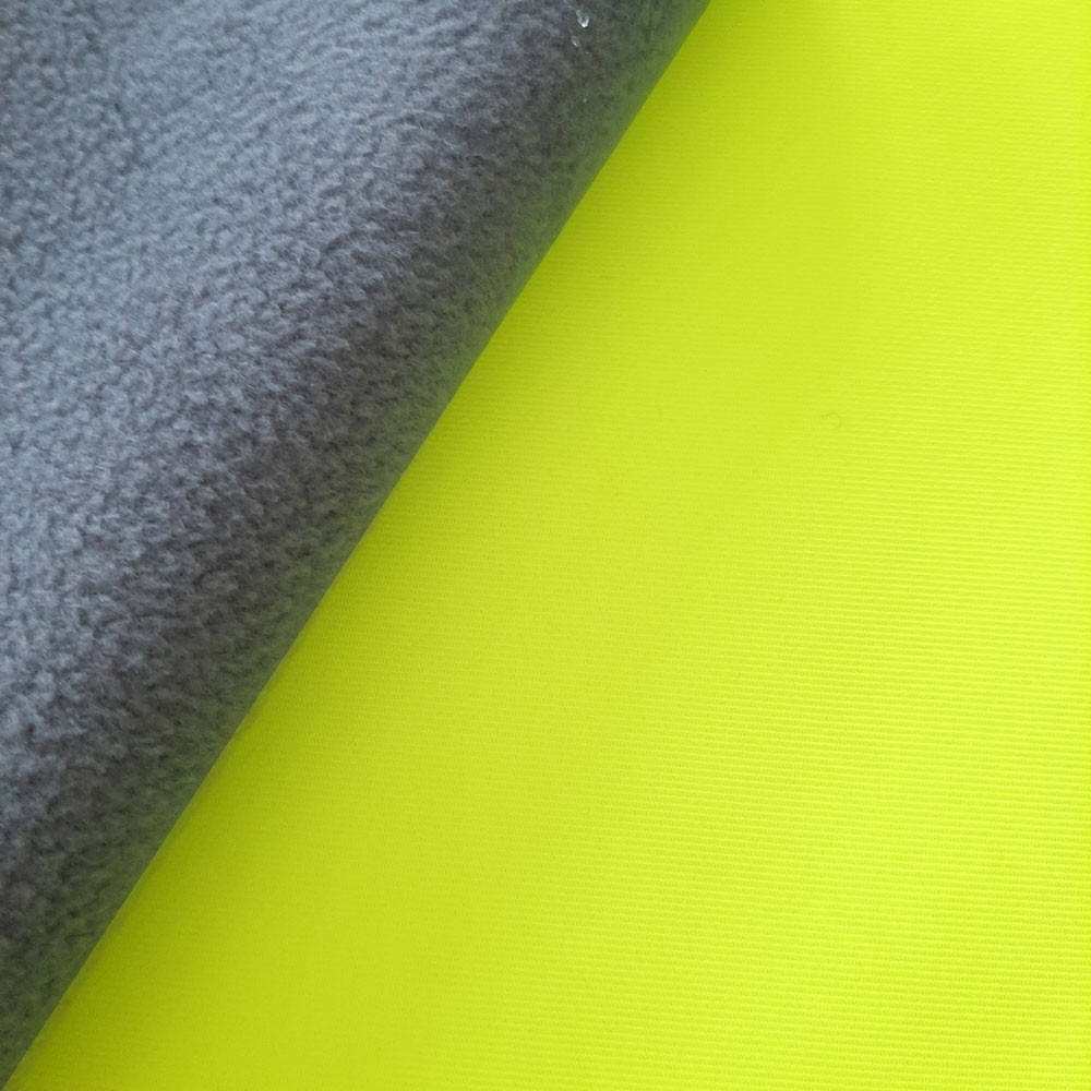 Hugo Softshell - Köpergrat - neon yellow