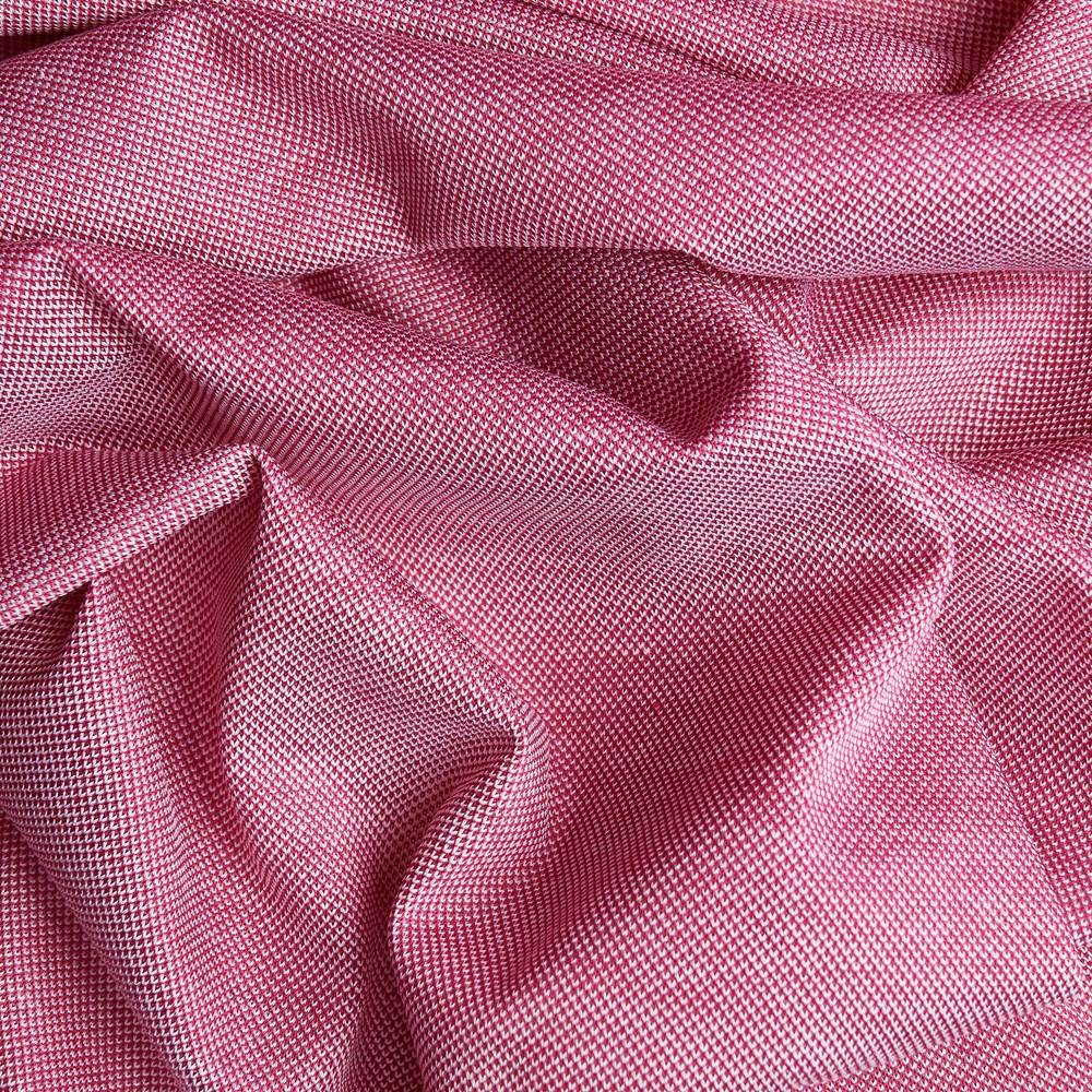 sample approx. 2x4cm - Italia - knitted Summer fabric (berry melange)