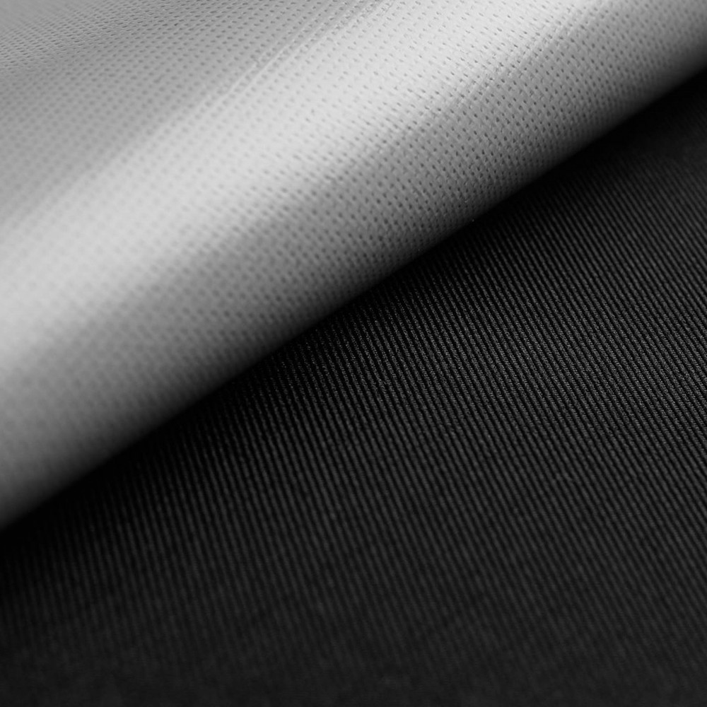 Outer fabric laminate ripstop - black