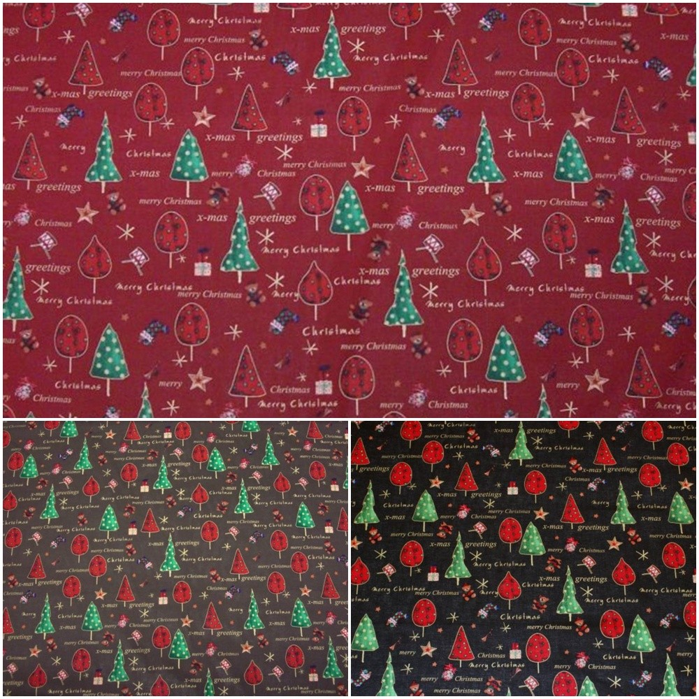 X-Mas - christmas fabric