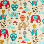 Benjamin cotton jersey fabric