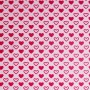 Lia cotton jersey fabric (pink)
