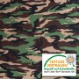 Sample approx. 2x4cm - Louis - Camouflage Sweat Fabric