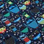 Sample approx. 2x4cm - Monster - Jersey Fabric